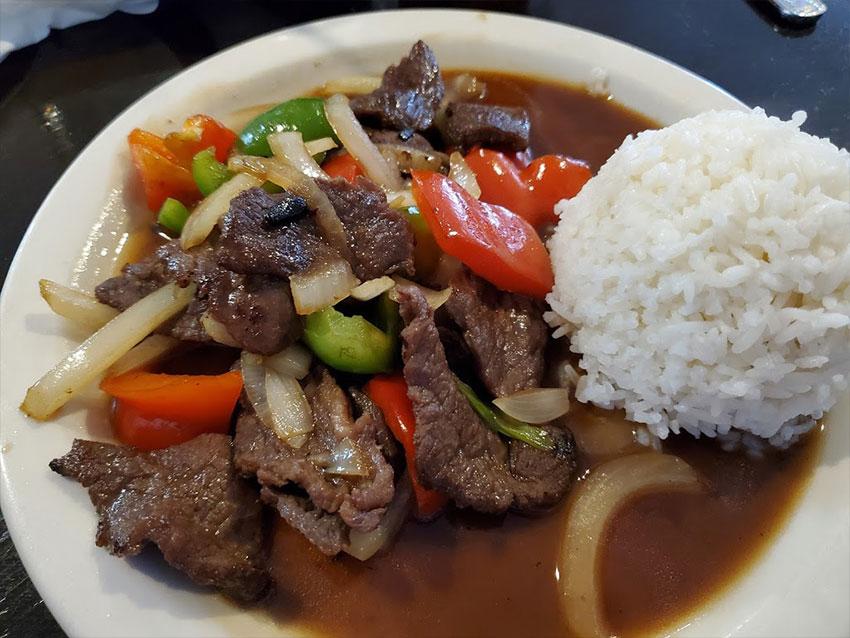 Thai Bistro & Sushi Lunch Dish