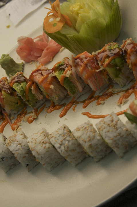 Thai Bistro sushi Rolls