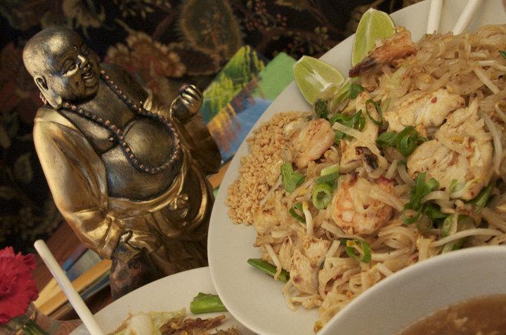 Noodles & Shrimp