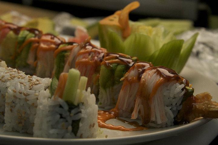 Thai Bistro sushi roll